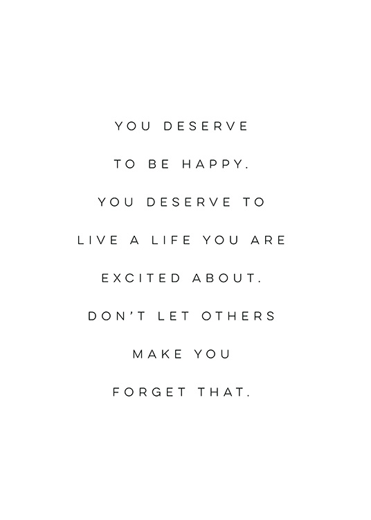 you deserve this